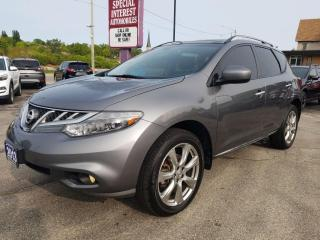 Used 2013 Nissan Murano SL PLATNIUM !! SUNROOF !!  LEATHER !! AWD !! for sale in Cambridge, ON
