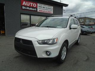 Used 2010 Mitsubishi Outlander LS**À QUI LA CHANCE//7 PLACES** for sale in St-Hubert, QC
