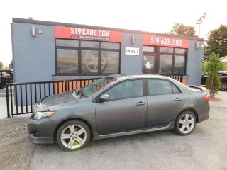 Used 2010 Toyota Corolla XRS | Sunroof | Winter Tires and Rims for sale in St. Thomas, ON