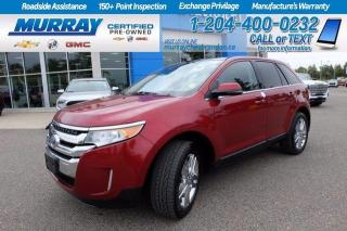 Used 2013 Ford Edge AWD* New Tires* Heated Seats* Remote Start* Backup for sale in Brandon, MB