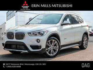 Used 2016 BMW X1 xDrive28i|NO ACCIDENTS|PANO ROOF|LEATHER|ONE OWNER for sale in Mississauga, ON