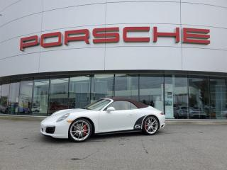 Used 2017 Porsche 911 Carrera 4S Cabriolet PDK for sale in Langley City, BC