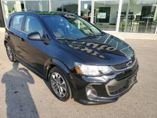 Used 2018 Chevrolet Sonic LT Auto Remote Start, Apple CarPlay, Heated Seats!!! for sale in Ingersoll, ON