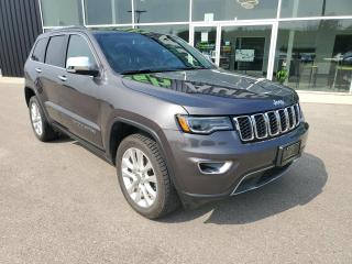 Used 2017 Jeep Grand Cherokee Limited NAV, PANO SUNROOF, HEATED SEATS & WHEEL!!! for sale in Ingersoll, ON