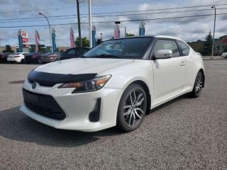 Used 2015 Scion tC Auto, cuir, caméra, toit pano TRES BAS KM!!! for sale in Gatineau, QC