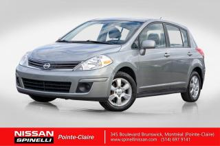 Used 2012 Nissan Versa SL HATCHBACK / GROUPE ELECTRIQUE / A/C for sale in Montréal, QC