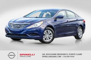 Used 2012 Hyundai Sonata GL BLUETOOTH / AC / SIEGES CHAUFFANT for sale in Montréal, QC
