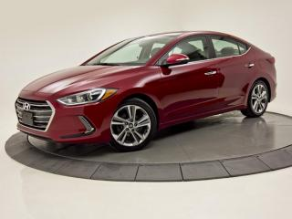 Used 2017 Hyundai Elantra Auto Limited CUIR TOIT OUVRANT MAGS  NAV for sale in Brossard, QC