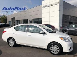 Used 2014 Nissan Versa SV *AUTO *BERLINE *BLUETOOTH *A/C *GR-ELECTRIQUE for sale in St-Hubert, QC