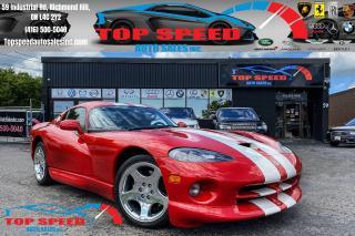 Used 2002 Dodge Viper GTS / 6-SPEED MANUAL / RARE / STRIPE / AIR CONDITI for sale in Richmond Hill, ON