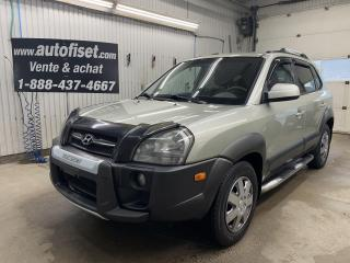 Used 2008 Hyundai Tucson 4WD 4dr V6 Auto GL for sale in St-Raymond, QC