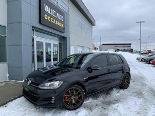 Used 2018 Volkswagen Golf GTI 5-door Manual for sale in St-Georges, QC
