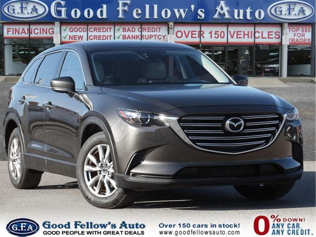 2017 Mazda CX-9 GS-L MODEL, 2.5L 4CYL TURBO, AWD, REARVIEW CAMERA