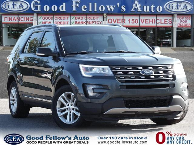 2016 Ford Explorer XLT MODEL, 7 PASS, LEATHER& POWER SEATS, REAR HEAT