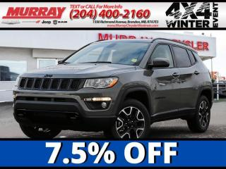 New 2021 Jeep Compass Upland Edition *Select Terrain* *Heat Seat* for sale in Brandon, MB