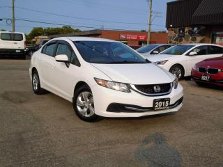 Used 2015 Honda Civic 4dr Man LX ONE OWNER PW PL PM A/C SAFETY for sale in Oakville, ON