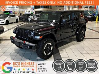 New 2021 Jeep Wrangler RUBICON UNLIMITED for sale in Richmond, BC