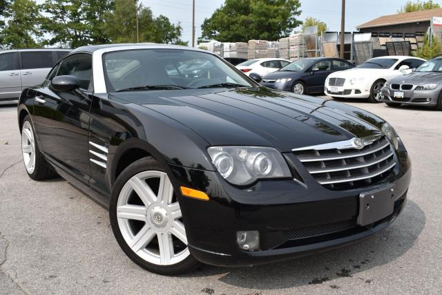 2005 Chrysler Crossfire LIMITED - RARE 6 SPEED MANUAL - BLUETOOTH