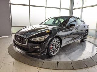 New 2020 Infiniti Q50 Red Sport I-LINE 4dr AWD Sedan for sale in Edmonton, AB