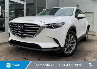 Used 2020 Mazda CX-9 GS-L - AWD, LEATHER, SUNROOF, HEATED SEATS, BLUETOOTH, LOW KMS! GREAT VALUE! for sale in Edmonton, AB