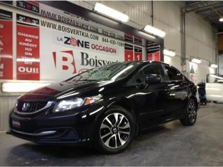 Used 2015 Honda Civic CIVIC EX CAMÉRA DÉMARREUR TOIT MAG PETIT PRIX ! for sale in Blainville, QC
