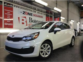 Used 2016 Kia Rio RIO LX+ AUTOMATIQUE A/C SEUL 25000 KM WOW !!!!!!! for sale in Blainville, QC