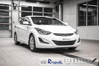 Used 2016 Hyundai Elantra GL chez Rimouski Hyundai for sale in Rimouski, QC