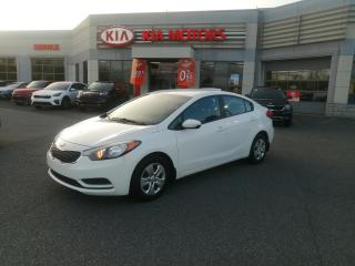 Used 2016 Kia Forte Auto LX **A/C**bluetooth**démarreur a distance for sale in Mcmasterville, QC
