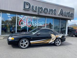 Used 1996 Ford Mustang cobra decapotable for sale in Alma, QC