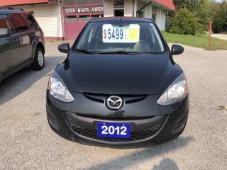 Used 2012 Mazda MAZDA2 GX for sale in Oro Medonte, ON