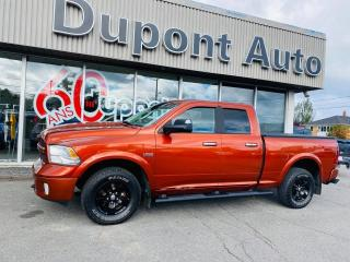 Used 2013 RAM 1500 Cabine quad 4RM, 140,5po Outdoorsman for sale in Alma, QC
