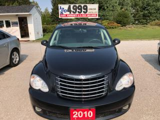 Used 2010 Chrysler PT Cruiser CLASSIC for sale in Oro Medonte, ON