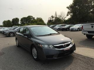 Used 2011 Honda Civic DX-G. VERY CLEAN-EXCELLENT CONDITION- EXTRA SET WINTER TIRES RIM for sale in London, ON