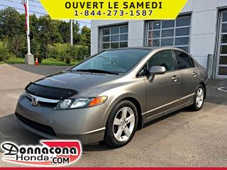 Used 2006 Honda Civic EX *Jamais accidenté* for sale in Donnacona, QC