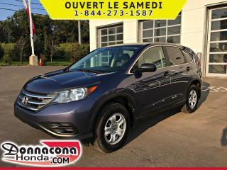 Used 2012 Honda CR-V LX AWD *GARANTIE 10 ANS / 200 000 KM* for sale in Donnacona, QC