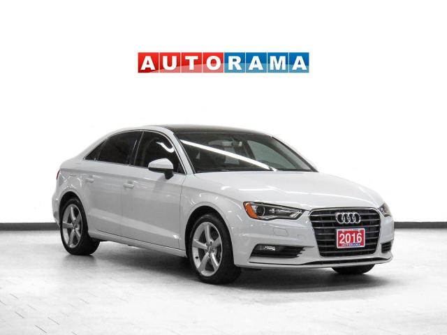 2016 Audi A3 Komfort Leather Sunroof Heated Seats