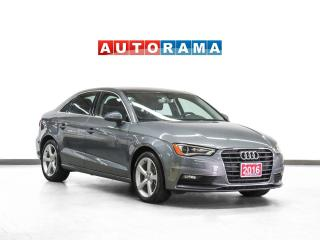 Used 2016 Audi A3 Progressiv Navigation Leather Sunroof for sale in Toronto, ON