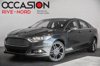 Used 2015 Ford Fusion Titanium AWD CUIR+SIEGES.CHAUFFANTS+CAM.RECUL for sale in Boisbriand, QC