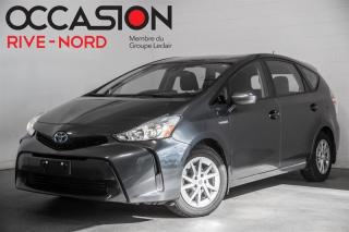 Used 2018 Toyota Prius V MAGS+CAM.RECUL+SIEGES.CHAUFFANTS for sale in Boisbriand, QC