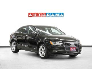 Used 2016 Audi A3 Progressiv Navigation Leather Sunroof Bcam for sale in Toronto, ON
