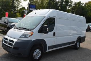 Used 2016 RAM ProMaster 3500 HIGH ROOF EXT for sale in Richmond Hill, ON