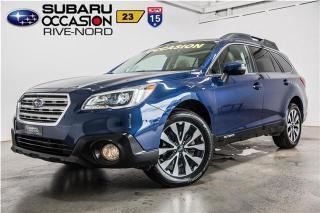 Used 2015 Subaru Outback 3.6R Limited EyeSight NAVI+CUIR+CAM.RECUL for sale in Boisbriand, QC