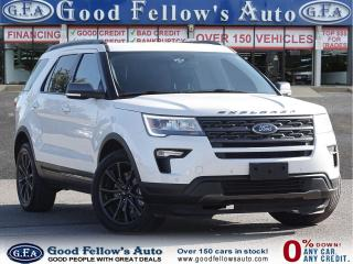 Used 2018 Ford Explorer XLT MODEL, 4WD, LEATHER SUED SEATS, NAVI, 7 PASS for sale in Toronto, ON