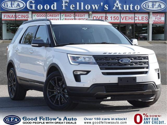 2018 Ford Explorer XLT MODEL, 4WD, LEATHER SUED SEATS, NAVI, 7 PASS