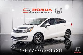 Used 2012 Kia Rio LX + MANUEL + A/C + CRUISE + WOW! for sale in St-Basile-le-Grand, QC