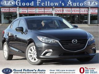 Used 2016 Mazda MAZDA3 GS MODEL, POWER MOONROOF WITH RETRACTABLE SUNSHADE for sale in Toronto, ON