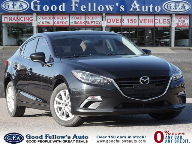 2016 Mazda MAZDA3 GS MODEL, POWER MOONROOF WITH RETRACTABLE SUNSHADE