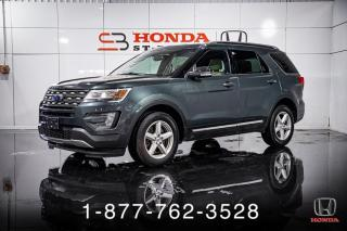 Used 2016 Ford Explorer XLT + 4WD + 7 PASSAGERS + MAGS + WOW! for sale in St-Basile-le-Grand, QC