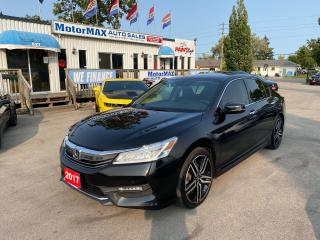 Used 2017 Honda Accord Touring-V6-NAVI-ONE OWNER for sale in Stoney Creek, ON