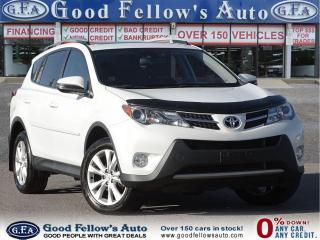 Used 2015 Toyota RAV4 LIMITED MODEL, SUNROOF, LEATHER & POWER SEATS, AWD for sale in Toronto, ON